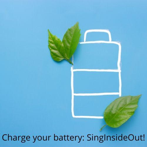 batterij opladen SingInsideOut stembevrijding